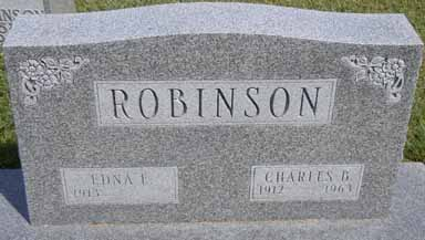 ROBINSON, CHARLES B - Dallas County, Iowa   CHARLES B ROBINSON