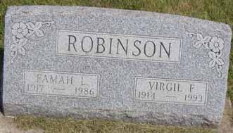 ROBINSON, FAMAH L - Dallas County, Iowa | FAMAH L ROBINSON