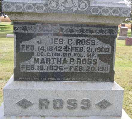 ROSS, JAMES C - Dallas County, Iowa   JAMES C ROSS