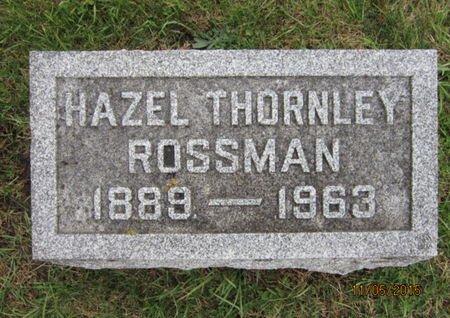 ROSSMAN, HAZEL - Dallas County, Iowa | HAZEL ROSSMAN
