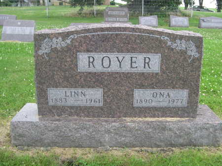ROYER, ONA - Dallas County, Iowa   ONA ROYER