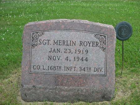 ROYER, MERLIN - Dallas County, Iowa | MERLIN ROYER