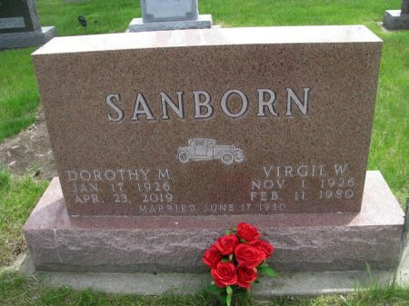 SANBORN, DOROTHY M. - Dallas County, Iowa | DOROTHY M. SANBORN