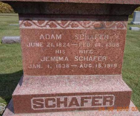 SCHAFER, JEMIMA - Dallas County, Iowa | JEMIMA SCHAFER