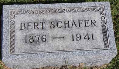 SCHAFER, BERT - Dallas County, Iowa | BERT SCHAFER
