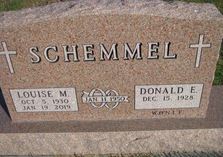 SCHEMMEL, LOUISE M - Dallas County, Iowa   LOUISE M SCHEMMEL
