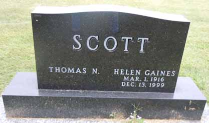 SCOTT, HELEN - Dallas County, Iowa | HELEN SCOTT