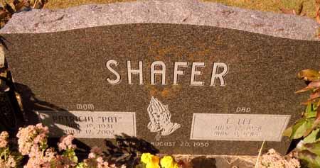 SHAFER, PATRICIA - Dallas County, Iowa | PATRICIA SHAFER