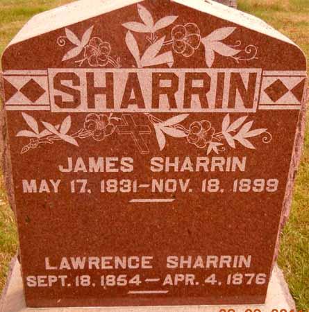 SHARRIN, JAMES - Dallas County, Iowa   JAMES SHARRIN