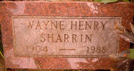 SHARRIN, WAYNE HENRY - Dallas County, Iowa | WAYNE HENRY SHARRIN