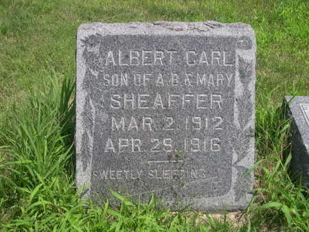 SHEAFFER, ALBERT CARL - Dallas County, Iowa | ALBERT CARL SHEAFFER