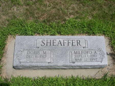 SHEAFFER, DORIS M. - Dallas County, Iowa | DORIS M. SHEAFFER