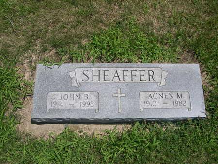 SHEAFFER, AGNES M. - Dallas County, Iowa | AGNES M. SHEAFFER