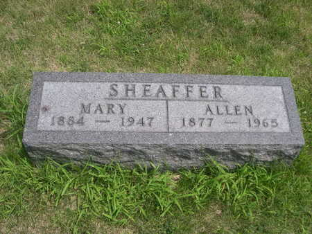 SHEAFFER, ALLEN - Dallas County, Iowa   ALLEN SHEAFFER