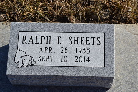 SHEETS, RALPH  E. - Dallas County, Iowa   RALPH  E. SHEETS