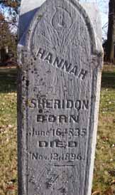 SHERIDON, HANNAH - Dallas County, Iowa | HANNAH SHERIDON