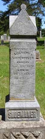 SHOEMAKER, AUGUSTUS - Dallas County, Iowa | AUGUSTUS SHOEMAKER