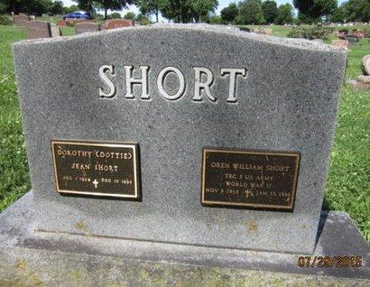SHORT, DOROTHY JEAN - Dallas County, Iowa | DOROTHY JEAN SHORT