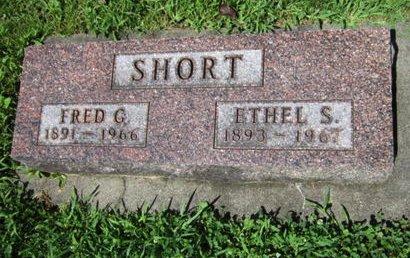 SHORT, ETHEL S - Dallas County, Iowa | ETHEL S SHORT