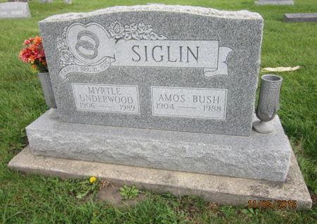 UNDERWOOD SIGLIN, MYRTLE - Dallas County, Iowa | MYRTLE UNDERWOOD SIGLIN
