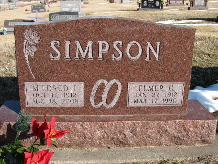 SIMPSON, ELMER C. - Dallas County, Iowa   ELMER C. SIMPSON