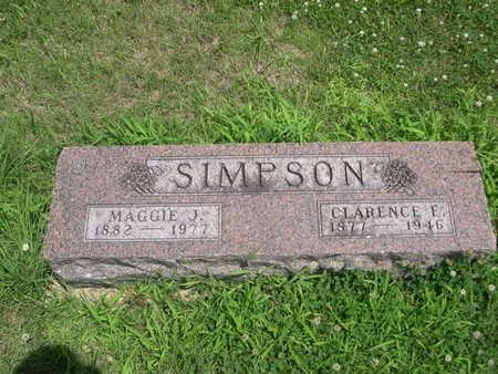 SIMPSON, MAGGIE J. - Dallas County, Iowa | MAGGIE J. SIMPSON