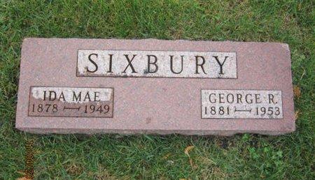 SIXBURY, IDA MAE - Dallas County, Iowa   IDA MAE SIXBURY