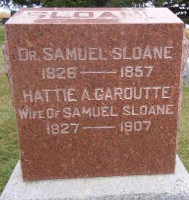 SLOANE, HATTIE A - Dallas County, Iowa | HATTIE A SLOANE