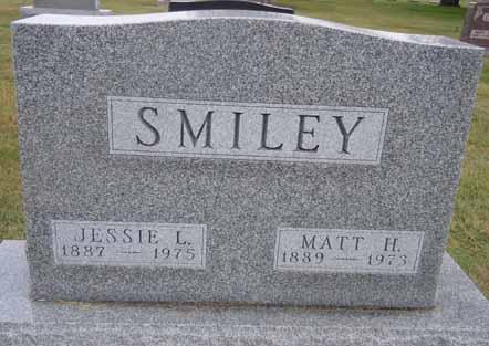 SMILEY, MATT H - Dallas County, Iowa | MATT H SMILEY
