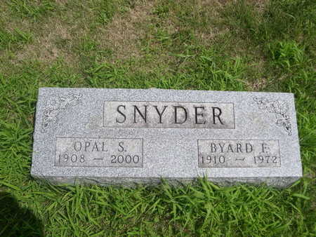 SNYDER, BYARD F. - Dallas County, Iowa | BYARD F. SNYDER