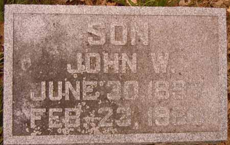 SPELLMAN, JOHN W. - Dallas County, Iowa | JOHN W. SPELLMAN