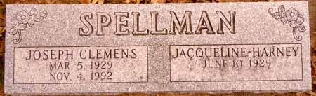 SPELLMAN, JOSEPH CLEMENS - Dallas County, Iowa | JOSEPH CLEMENS SPELLMAN