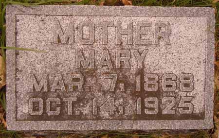SPELLMAN, MARY - Dallas County, Iowa   MARY SPELLMAN