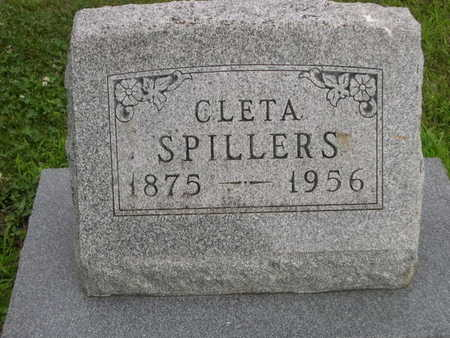 SPILLERS, CLETA - Dallas County, Iowa | CLETA SPILLERS