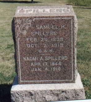 SPILLERS, SAMUEL H. - Dallas County, Iowa   SAMUEL H. SPILLERS