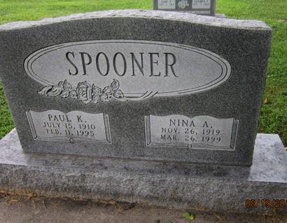 SPOONER, PAUL K - Dallas County, Iowa | PAUL K SPOONER