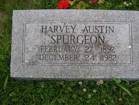 SPURGEON, HARVY AUSTIN - Dallas County, Iowa | HARVY AUSTIN SPURGEON