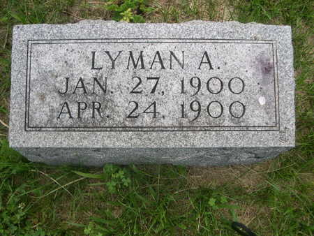 SPURGEON, LYMAN A. - Dallas County, Iowa   LYMAN A. SPURGEON
