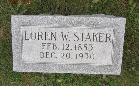 STAKER, LOREN W - Dallas County, Iowa | LOREN W STAKER