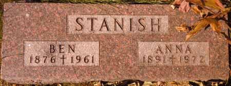 STANISH, ANNA - Dallas County, Iowa   ANNA STANISH