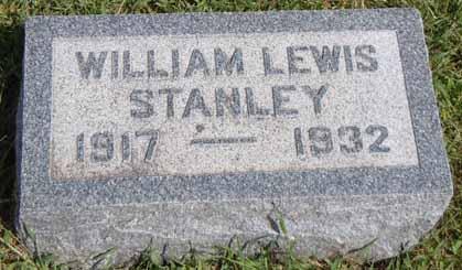 STANLEY, WILLIAM LEWIS - Dallas County, Iowa | WILLIAM LEWIS STANLEY