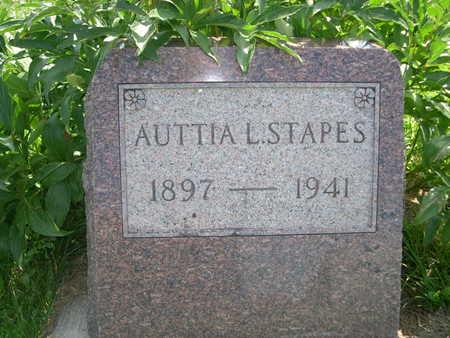 STAPES, AUTTIA L. - Dallas County, Iowa | AUTTIA L. STAPES