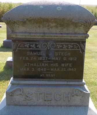 STECH, SAMUEL J - Dallas County, Iowa | SAMUEL J STECH