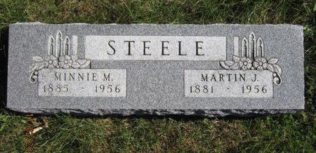 STEELE, MINNIE M - Dallas County, Iowa | MINNIE M STEELE