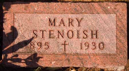 STENOISH, MARY - Dallas County, Iowa   MARY STENOISH