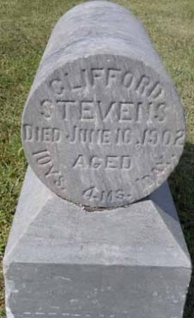 STEVENS, CLIFFORD - Dallas County, Iowa | CLIFFORD STEVENS