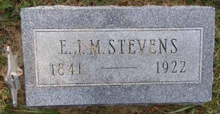 STEVENS, E J M - Dallas County, Iowa   E J M STEVENS