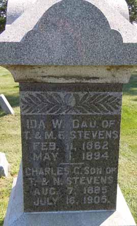 STEVENS, CHARLES C - Dallas County, Iowa | CHARLES C STEVENS