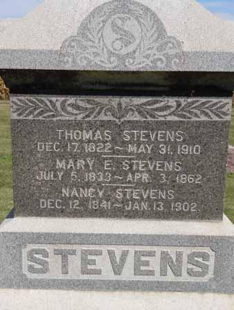 STEVENS, NANCY - Dallas County, Iowa | NANCY STEVENS