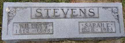 STEVENS, SARAH E - Dallas County, Iowa   SARAH E STEVENS